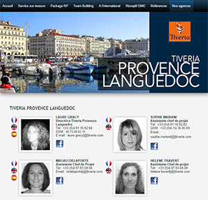 Tiveria Organisations Provence-Languedoc